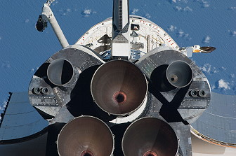 Arrival of STS-130