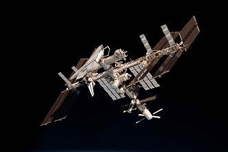 ISS with STS-134