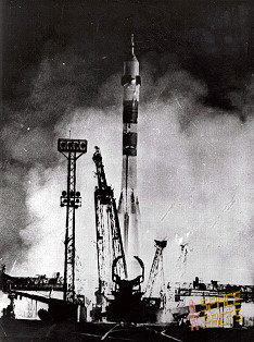 Soyuz 14 on launch pad