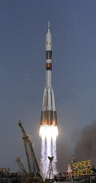 Soyuz T-13 launch