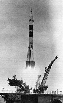 Soyuz T-9 launch