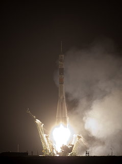 Soyuz TMA-17 launch