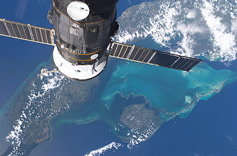 Arrival of Soyuz TMA-9 at the ISS