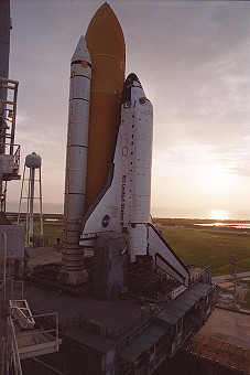 STS-106 on launch pad