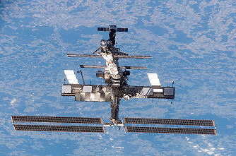 ISS after STS-121