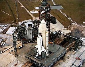 STS-1 rollout