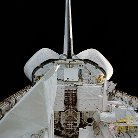 STS-2 in orbit