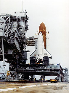 STS-33 rollout