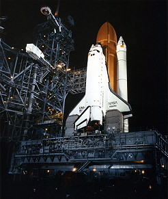 STS-51J on launch pad