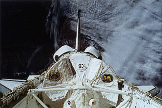 STS-65 in orbit