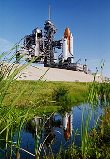 STS-68 on launch pad