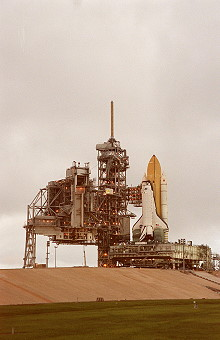 STS-88 on launch pad