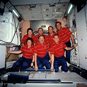 traditional in-flight photo STS-101