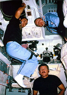 in-flight photo STS-51C