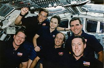 traditional in-flight photo STS-52