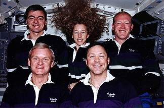 traditional in-flight photo STS-62