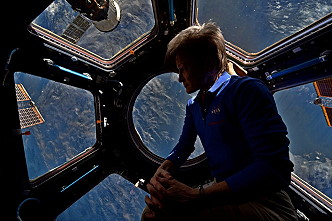 Whitson onboard ISS