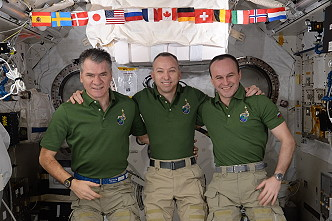 crew onboard ISS