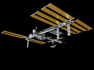 ISS as of April 19, 2008