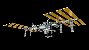 ISS as of October 25, 2012