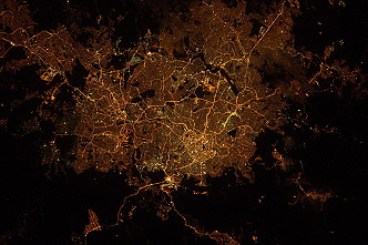 Belo Horizonte by night