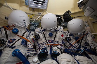 Sokol spacesuits
