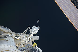 Satellite deployment from ISS