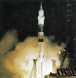 Soyuz 33 launch