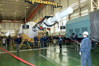 Soyuz MS-07 integration