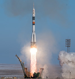 Soyuz MS-07 launch