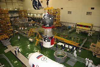 Soyuz MS-09 integration