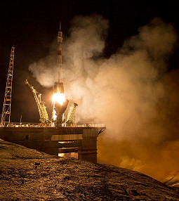 Soyuz TMA-16M launch