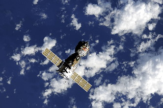 Soyuz TMA-18 in orbit