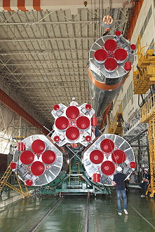 Soyuz TMA-18M integration