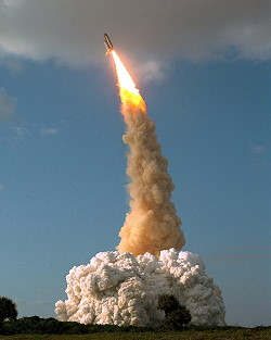 STS-31 launch