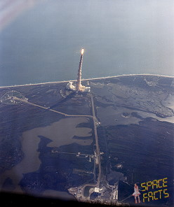 STS-41C launch