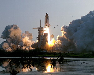 STS-51G launch