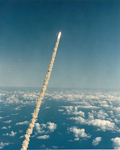 STS-52 launch
