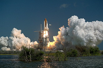 STS-61A launch